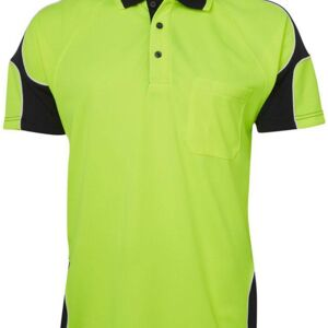 Hi Vis Arm Panel Polo Thumbnail