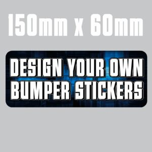 150mm x 60mm  Bumper Stickers Thumbnail