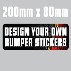 200mm x 80mm  Bumper Stickers Thumbnail